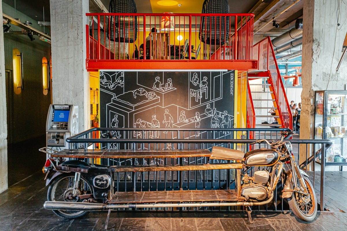 Volkshotel, Experience The Coolest Hotel in Amsterdam